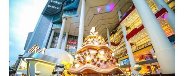 点亮2018年魔都首场圣诞亮灯仪式,上海世茂广场潮幻奇遇季璀璨启幕