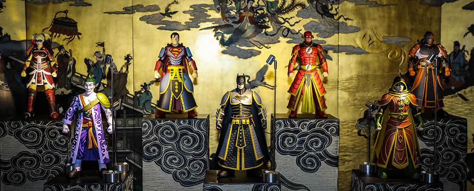 喜迎故宫建成600周年,Pop Life Global联合故宫宫苑、美国DC漫画发布多款故宫主题跨界潮流艺术品