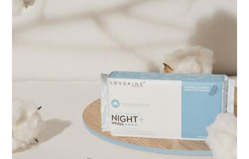 Lovekins无胶芯体卫生巾,超大吸量,更放心