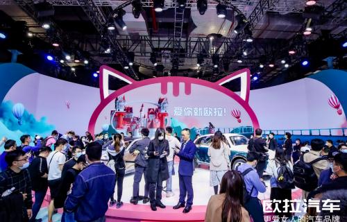 叹号型魔法师出招 | 网红欧拉 霸榜上海车展